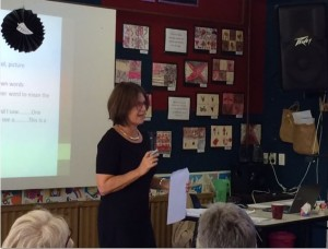 Alison presenting on differentiated instruction in NSW