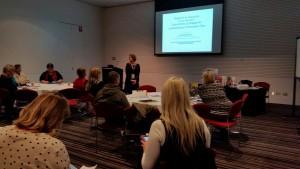Alison at ALEA conference